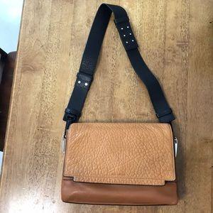 Pour La Victoire leather brown handbag